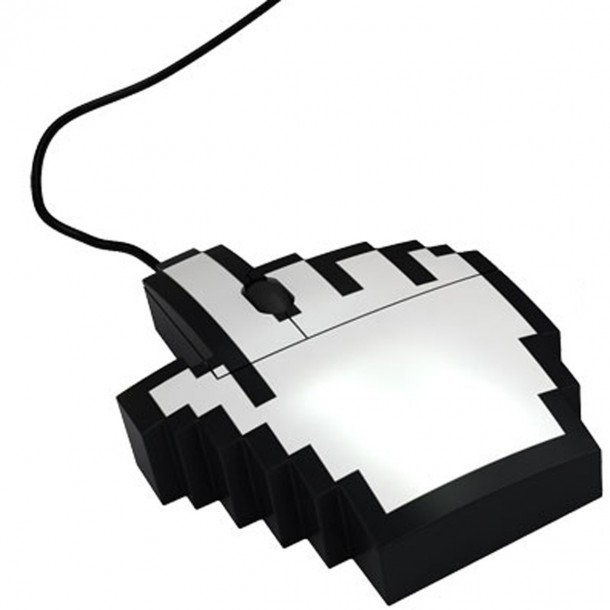 11. Retro Pointer Finger Cursor Icon Pixel Mouse