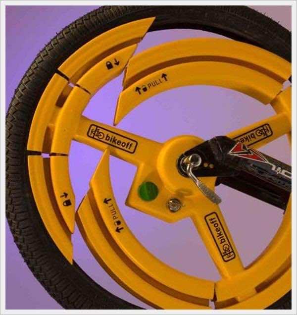 15. Anti Theft Bicycle Wheel