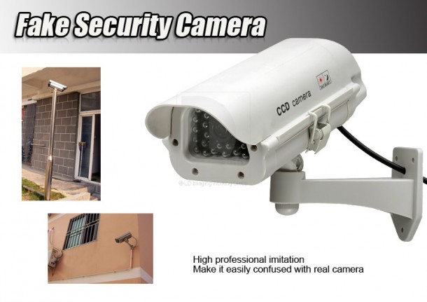 16. Fake Security Cameras Gadgets That Will Keep You Safe And Secure