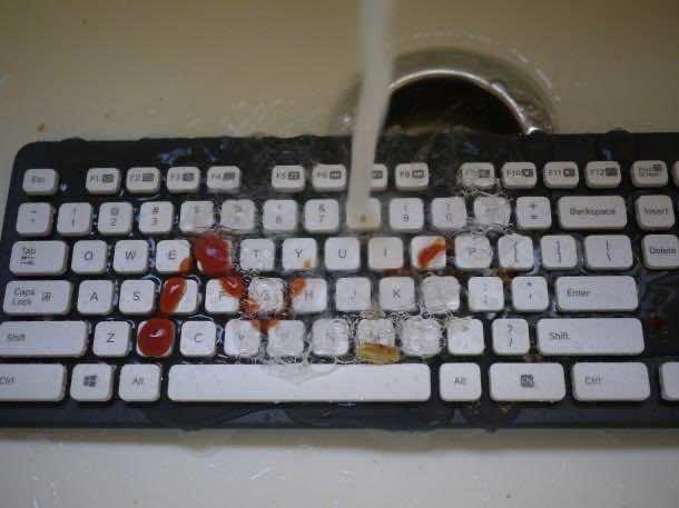 17. Washable keyboard
