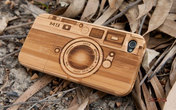 18. Wooden Camera iPhone Case