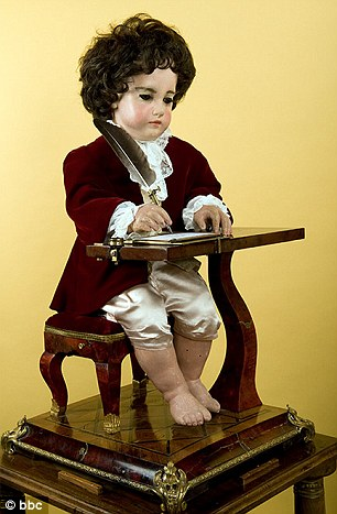 240 Year old Automaton that writes