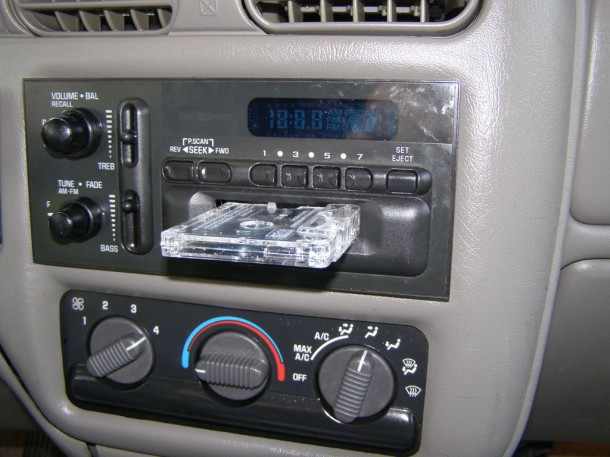 3. Fake Cassette Tape Car Stereo Gadgets That Will Keep You Safe And Secure