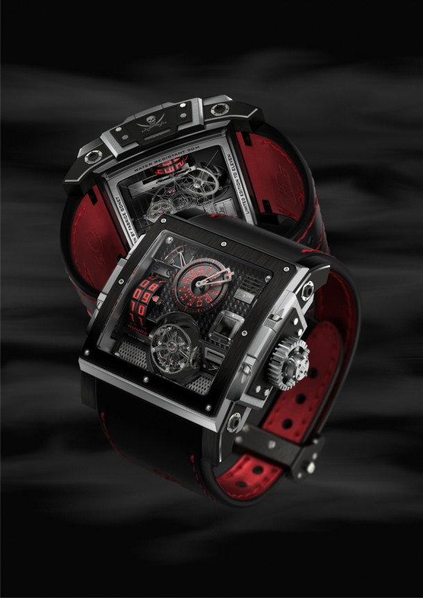 3. HD3 Complication Black Pearl Watch
