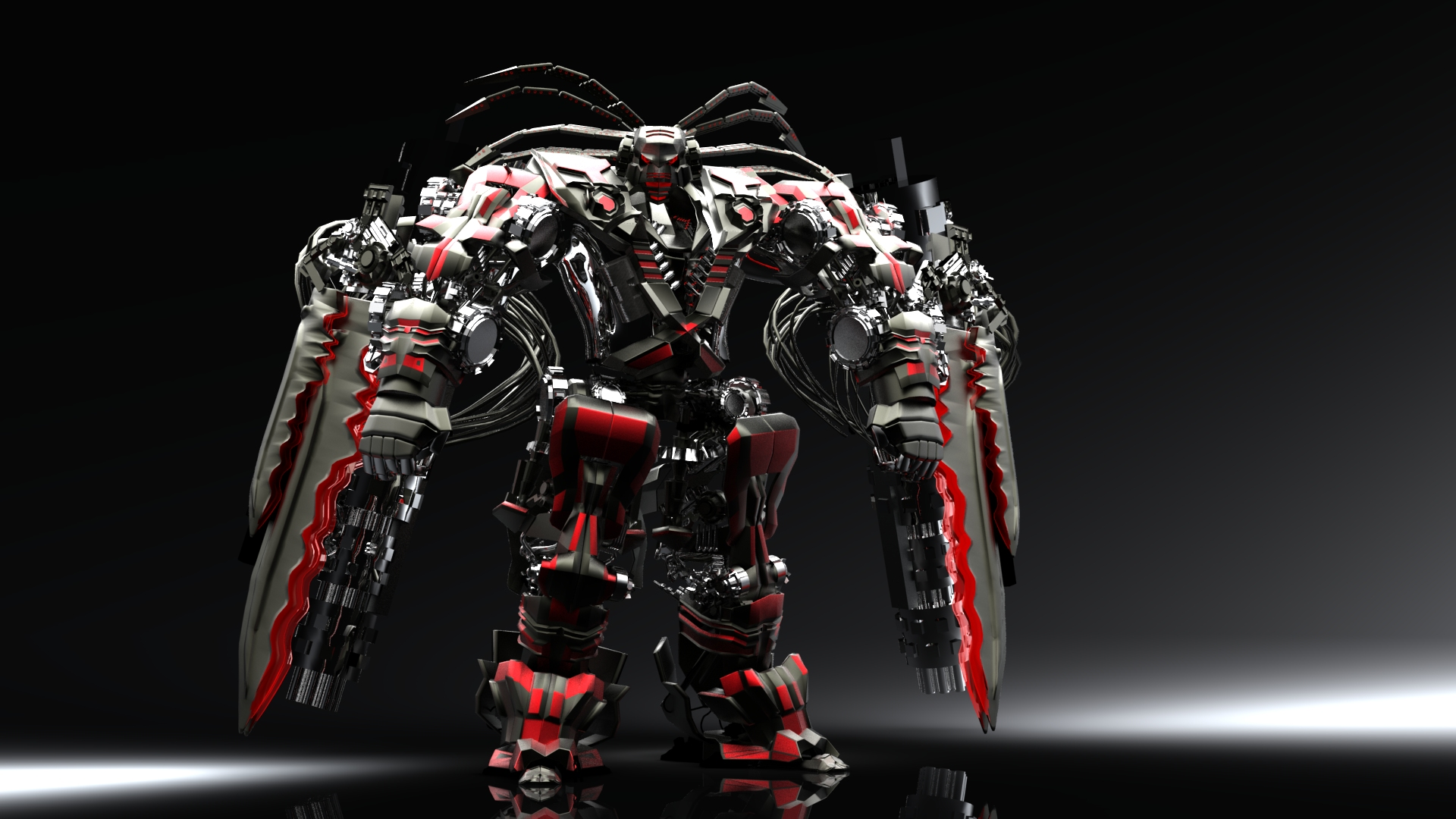 3d robot wallpaper hd dekstop