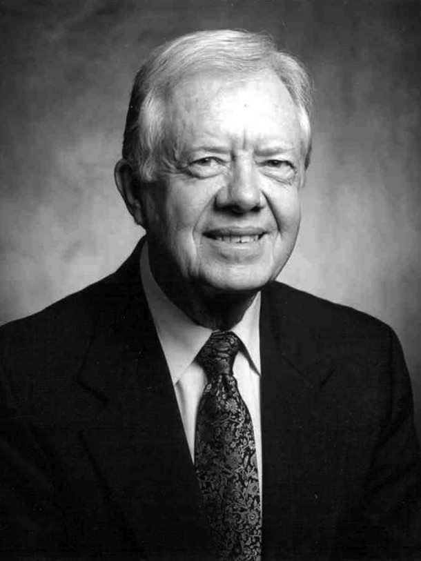 4. Jimmy Carter, 39th President of the United States and Nobel Peace Prize Winner