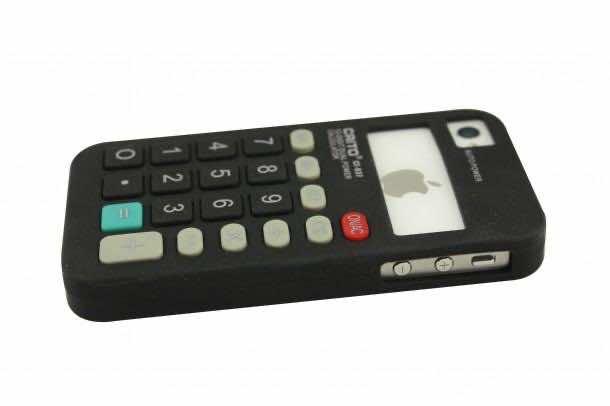 5. Old-School Calculator iPhone Case