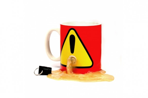 5. The Anti Theft Plug Mug