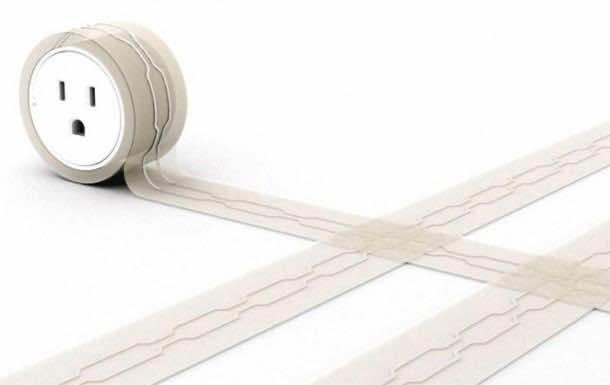 5. Wiring under the rug