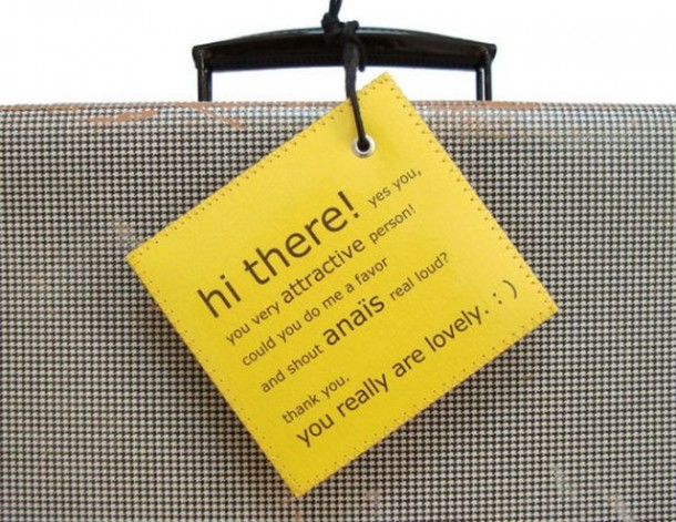 6. Luggage Tags