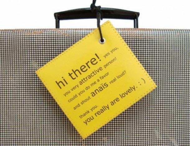 6. Luggage Tags