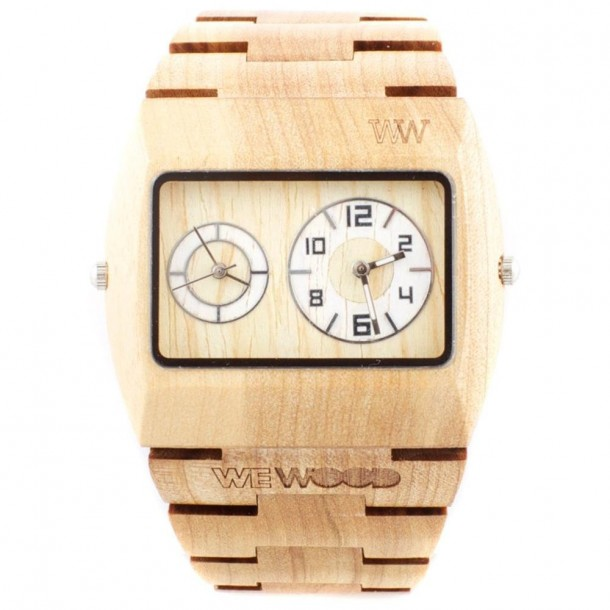6. WeWood Jupiter Dual Movement Watch