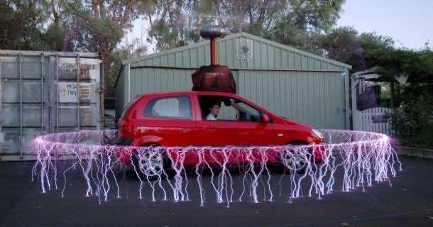 8. Tesla Car Burglar Alarm