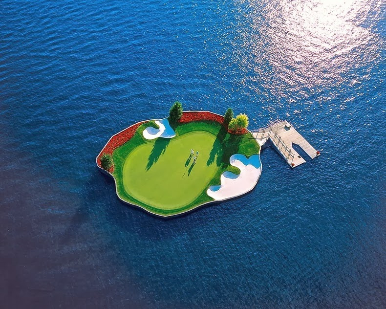 Are you that Good - Floating Golf Course 2