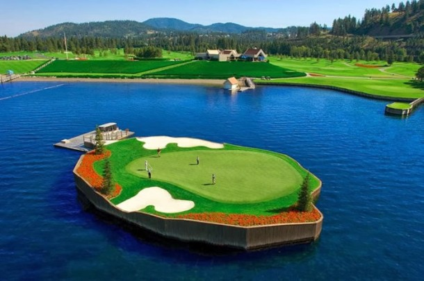 Are you that Good - Floating Golf Course