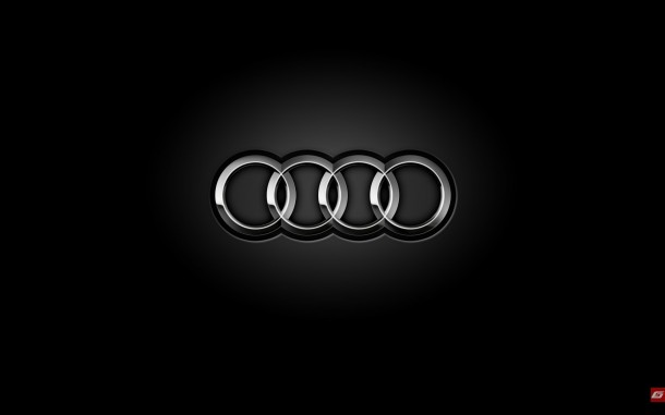 wallpaper originals audi rings logo