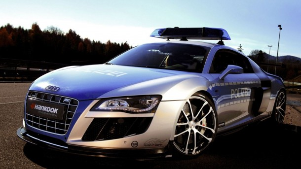 Audi-R8-Police-Car-HD-Widescreen-Wallpaper