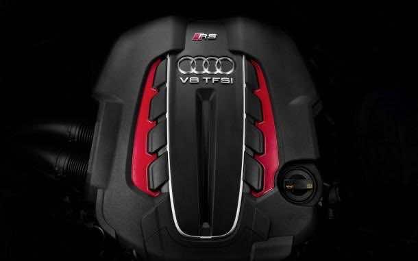 Audi engine wallpaper