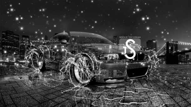 BMW-M3-Water-Crystal-Photoshop-Car-City-2013-HD-Wallpapers