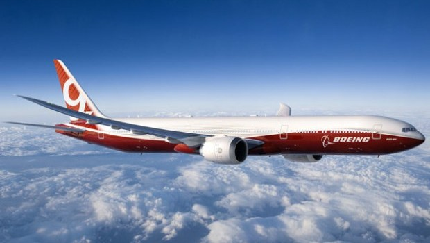 Boeing 777x has folding wingtips