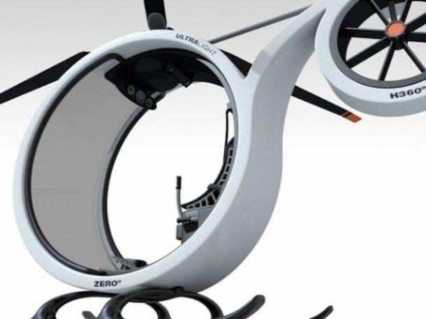 Conceptual Design – ZERO Personal Helicopter 2