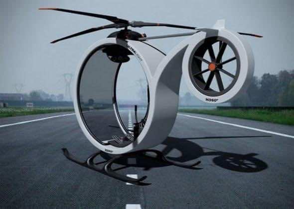 Conceptual Design – ZERO Personal Helicopter 4