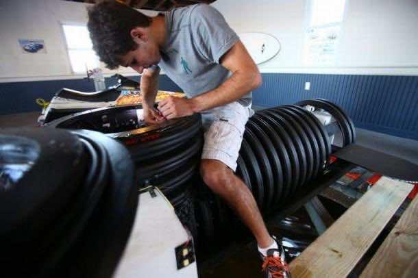DIY Submarine Made from Scrap 4