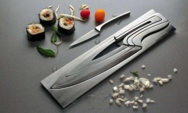 Deglon Stainless Steel Nesting Knives