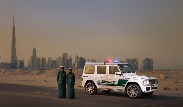 Dubai Police does it with Style - Mercedes-Benz G63 AMG 2