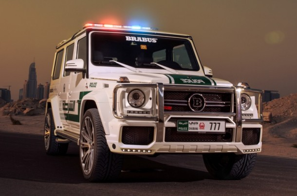 Dubai Police does it with Style - Mercedes-Benz G63 AMG 4