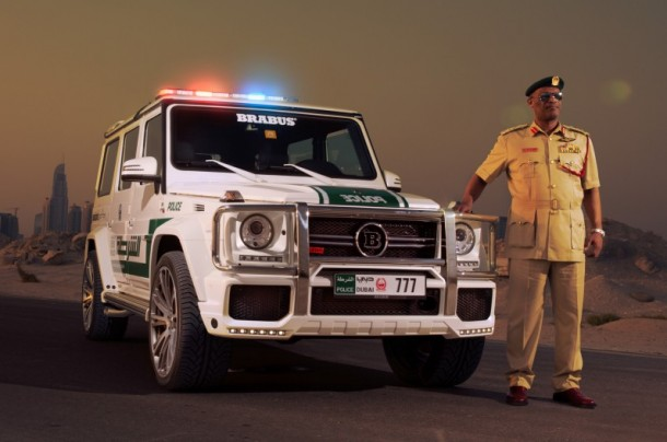 Dubai Police does it with Style - Mercedes-Benz G63 AMG