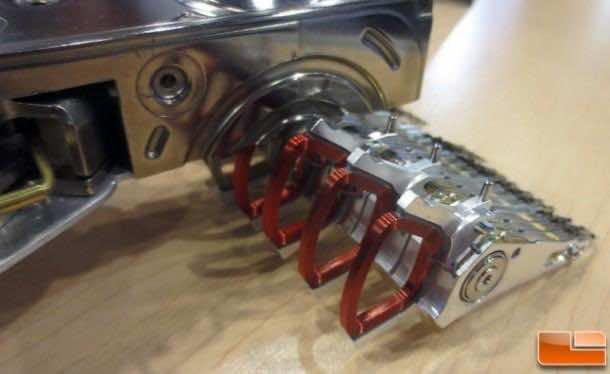F1 Car made from hard disks 4