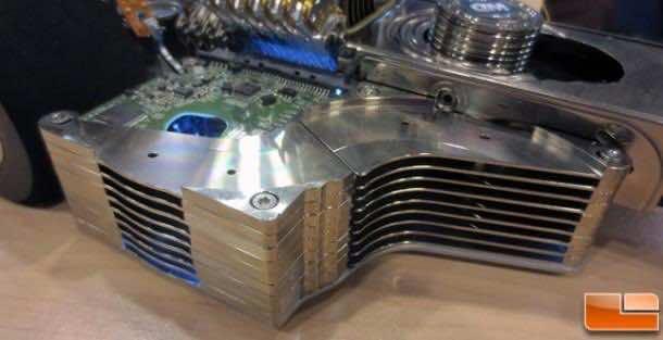 F1 Car made from hard disks