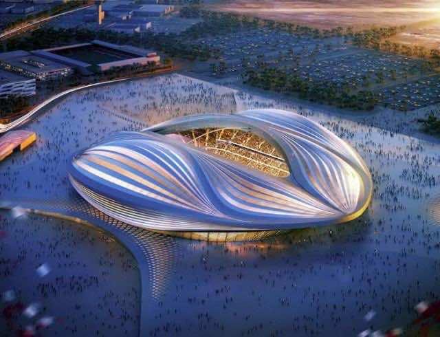 FIFA 2022 World Cup - Zaha Hadid's Stadium 2