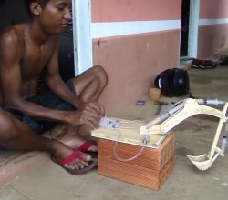 Genius Youngster – Scale Model made from scrap and it Works 2