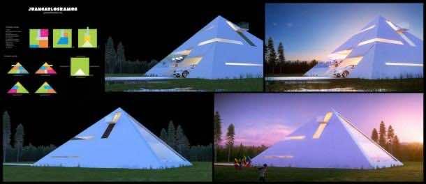 Live Like Egyptians – Pyramid House 2