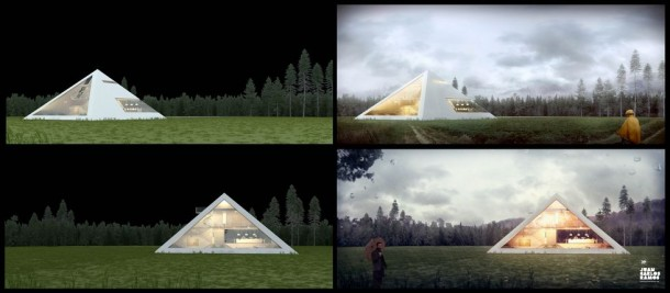Live Like Egyptians – Pyramid House 4