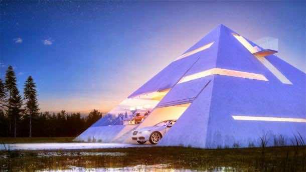 Live Like Egyptians – Pyramid House