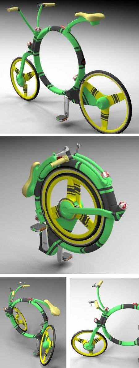 Locust Folding Bike designed by Josef Cadek