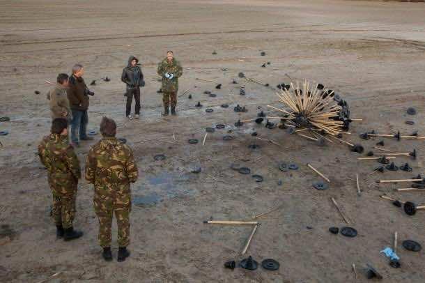 Mine Kafon - Wind Powered Landmine Detector