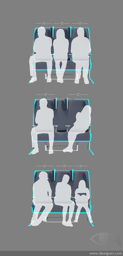 Morph Concept – Smart Seats to Meet your Needs 3