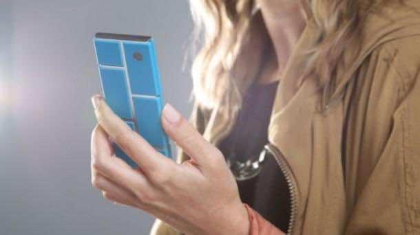 Motorola's take on Phonebloks - Project Ara