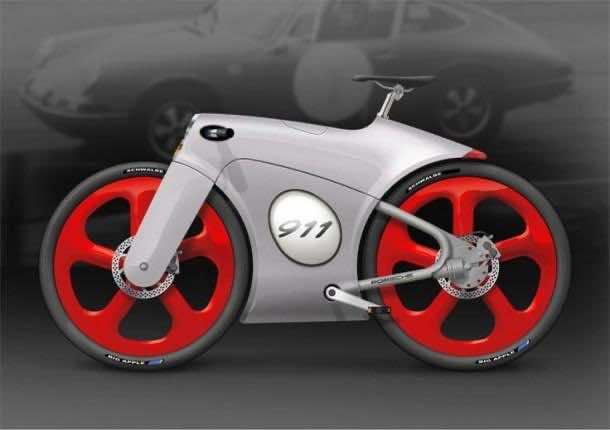 Porsche  Futuristic bicycle