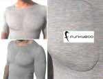 Say Goodbye to Exercise - $50 Fake Muscle Undershirt 2