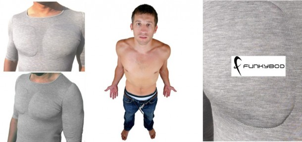 Say Goodbye to Exercise - $50 Fake Muscle Undershirt