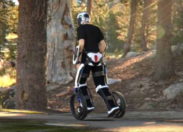 Segway-Inspired Personal Transporter Designed by Student