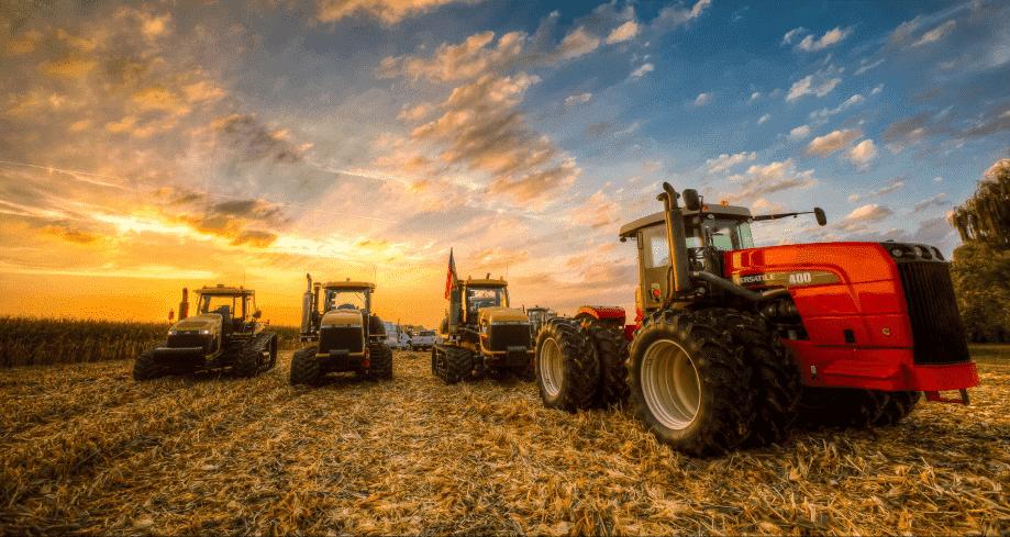 The Farmer & His 20 Million Dollars Worth of Tractors