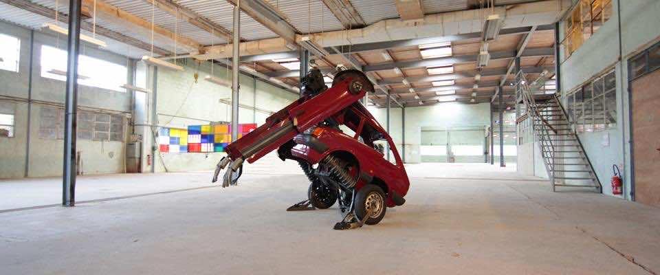 Transformers – Ford Fiesta sculpture 4