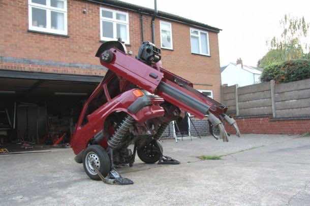 Transformers – Ford Fiesta sculpture