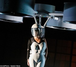 Lady Gaga's flying dress Volantis